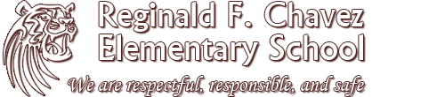 Reginald Chavez Elementary School  Logo